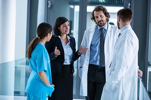 Dolmetschen für den Gesundheitsdienst
