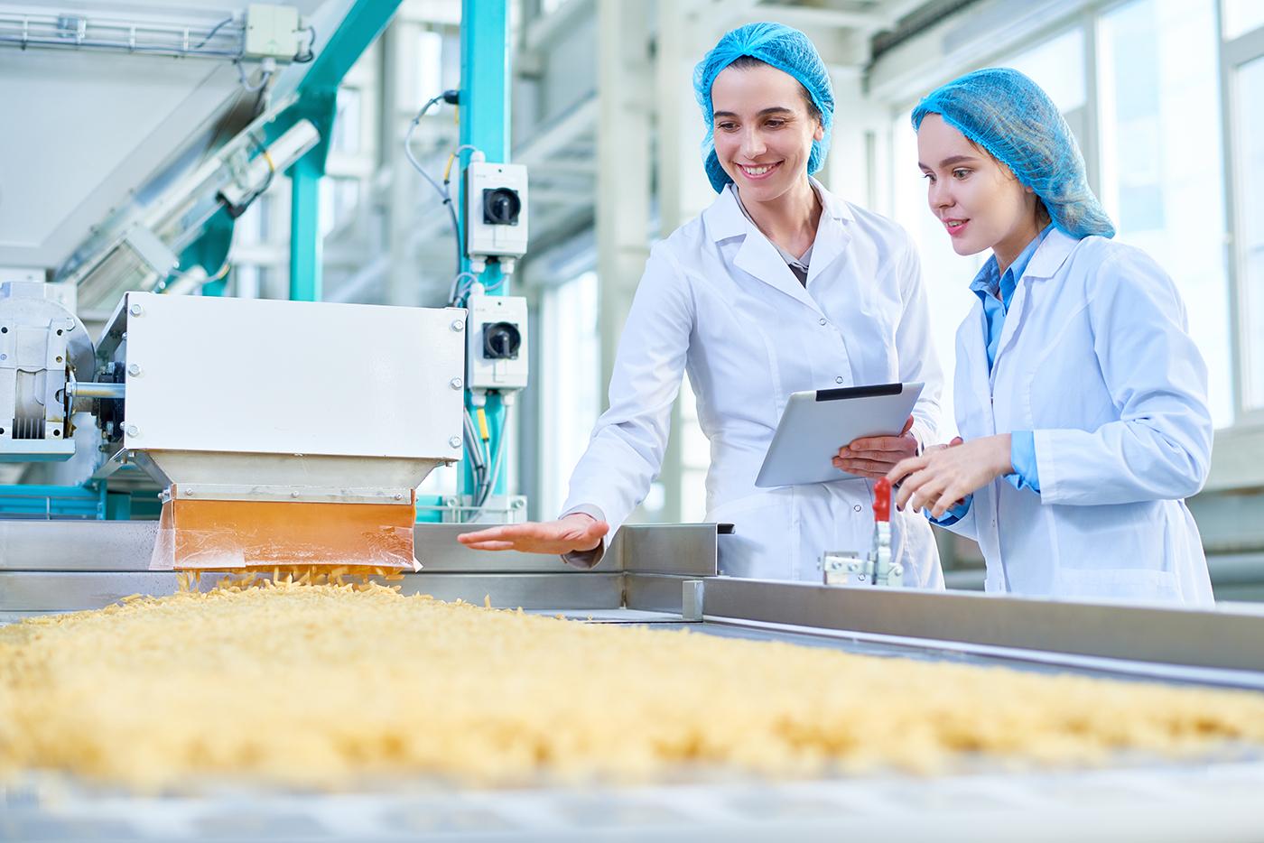 Übersetzung für die Nahrungsmittel- und Getränkeindustrie