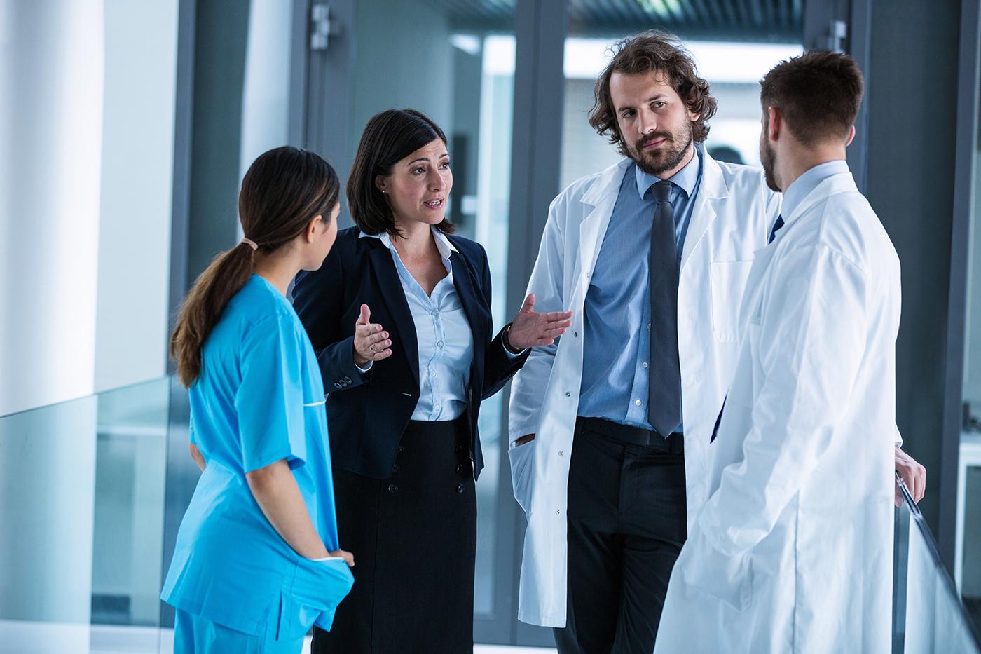 Dolmetscher für den <br>Gesundheitsdienst